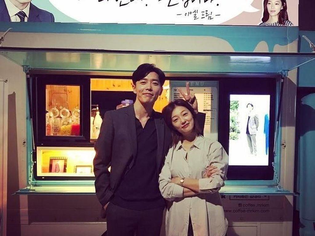 Pose Keren Kim Jae Wook Her Private Life Saat Menyantap Ramen Bareng Rain
