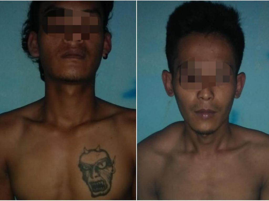Pria Bertato Setan Ini Sempat Diduga Perampok 212 Mart Sukabumi