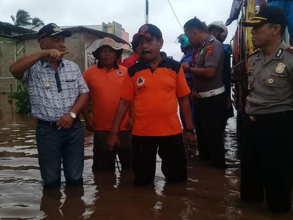 Siklon Tropis Lili di Laut Timor, Sejumlah Desa Maluku Barat Daya Banjir