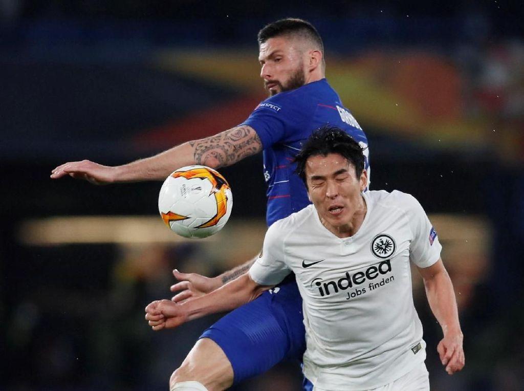 Berimbang 1-1, Chelsea vs Frankfurt Lanjut ke Babak Tambahan