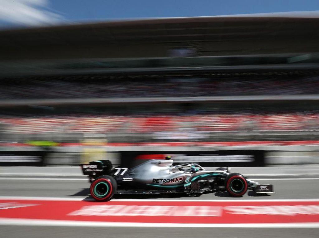 Free Practice II GP Spanyol: Bottas Lagi-lagi Tercepat