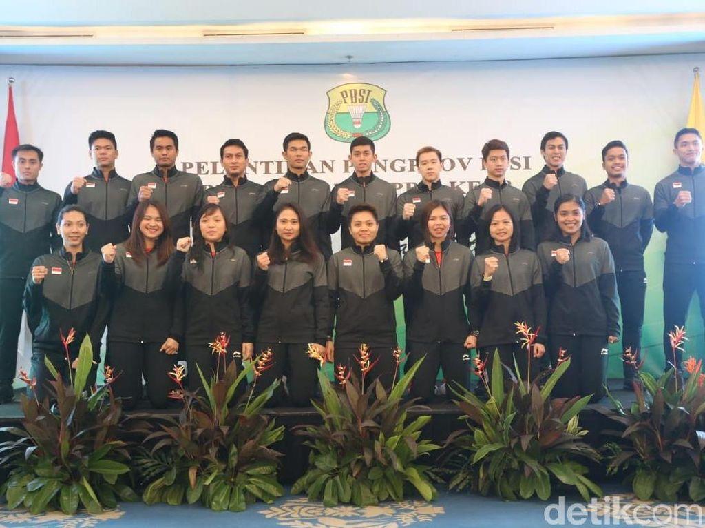 Rayakan HUT, PBSI Lepas Timnas ke Piala Sudirman 2019
