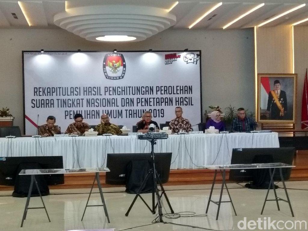 Rekapitulasi Nasional KPU, Jokowi-Maruf Menang di Kaltara