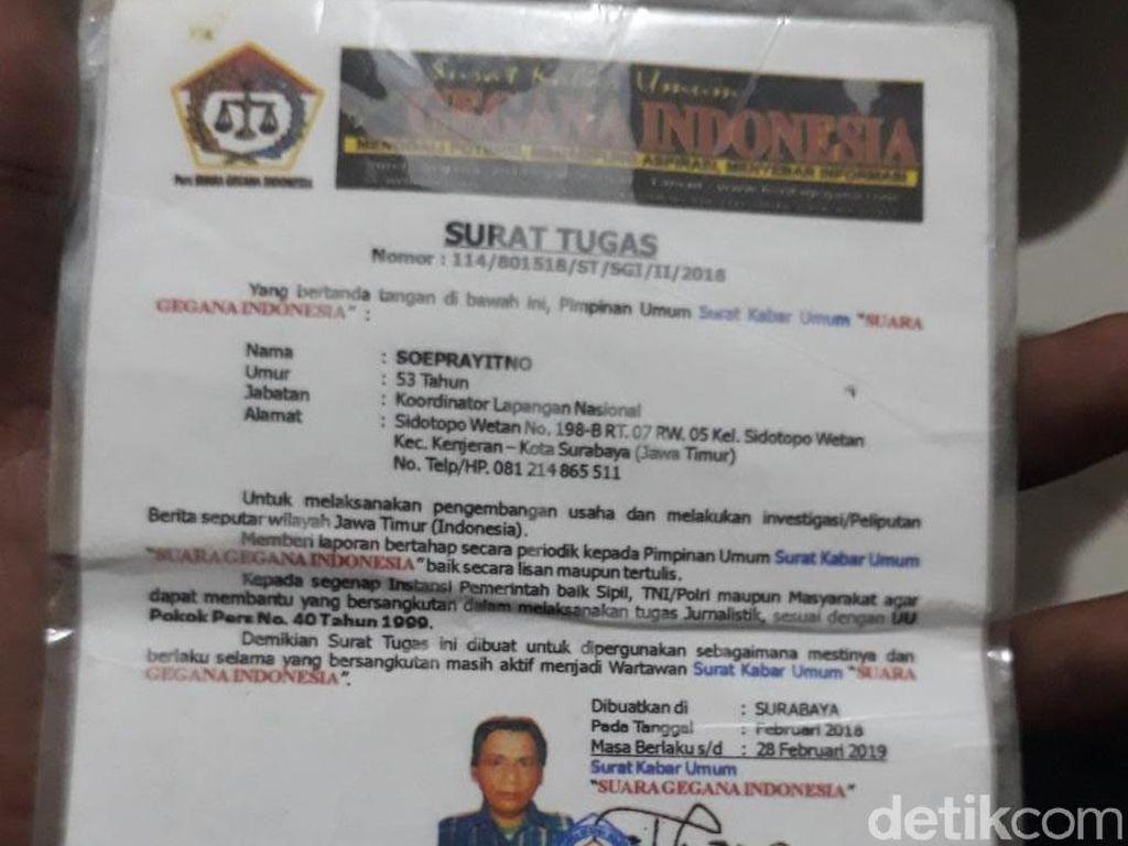 Polisi Kejar 2 Terduga Pembunuh Jurnalis Media Mingguan Surabaya