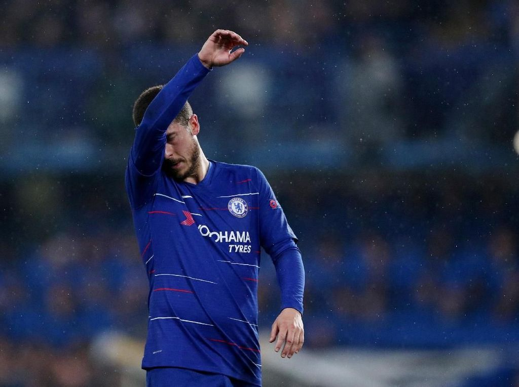 Hazard Bisa Saja Pergi Sekalipun Chelsea Juara Liga Europa
