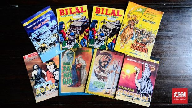 Komik agama yang muncul pada dekade 70an, bercerita tentang nabi-nabi Islam dan sejarah Islam.
