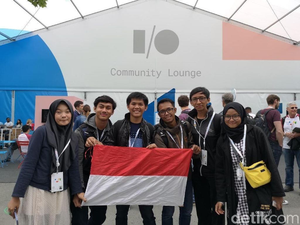 Kala Developer Mahasiswa Indonesia Menimba Ilmu di Hajatan Google I/O