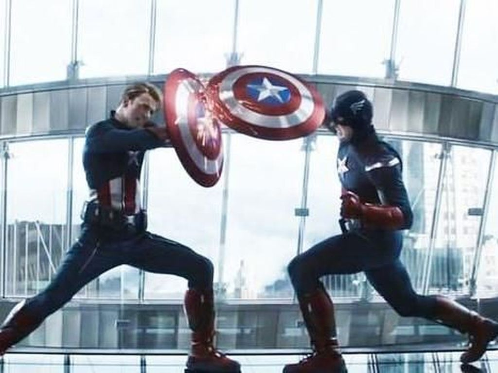 Bokong Captain America Jadi Lelucon Tak Terlupakan di Avengers: Endgame