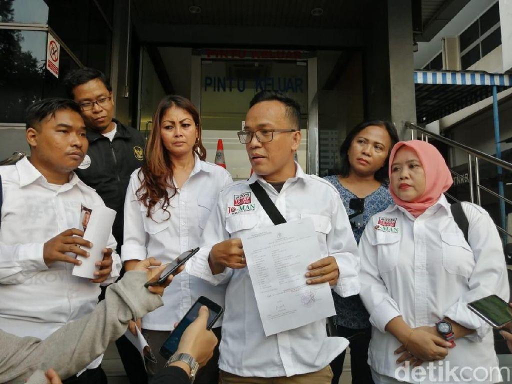 Relawan Laporkan Pria Berjaket Cokelat Pengancam Jokowi ke Polda