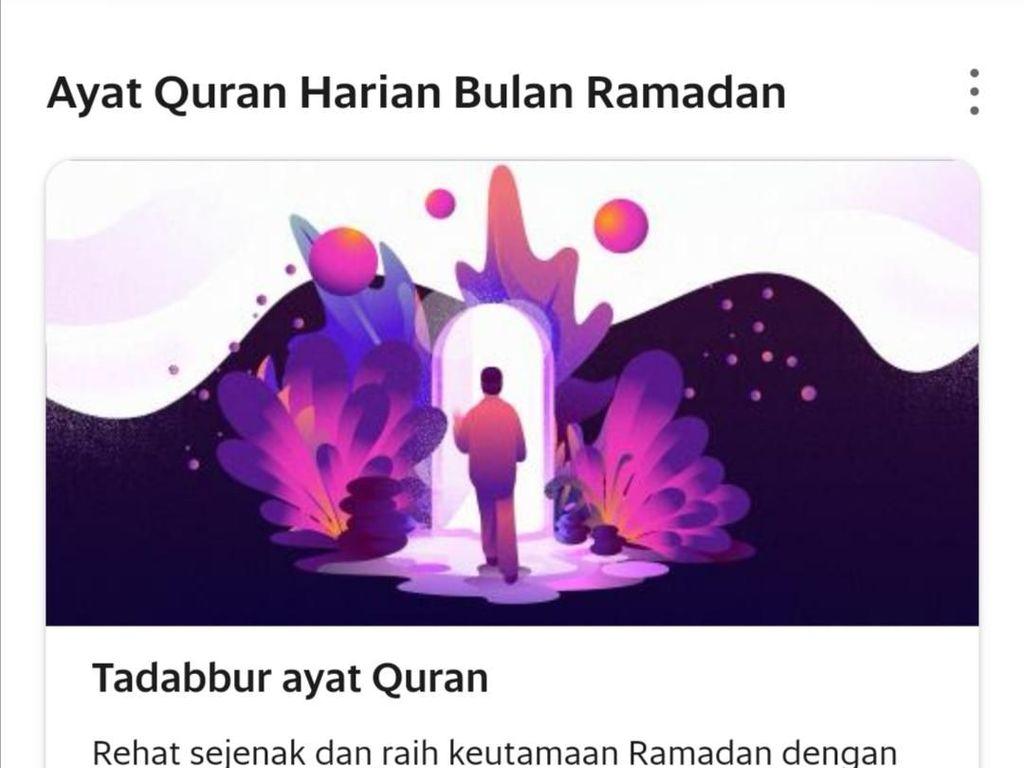 Ramadhan, Order Grab Bisa Sambil Baca Ayat Alquran Pilihan