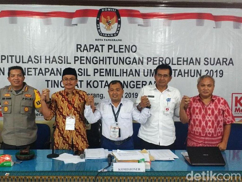 Prabowo Menang atas Jokowi di Kota Tangerang, Rekapitulasi Suara Kondusif