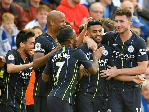 Sempat Kecolongan, Man City Hajar Brighton 4-1 untuk Kunci Gelar Juara