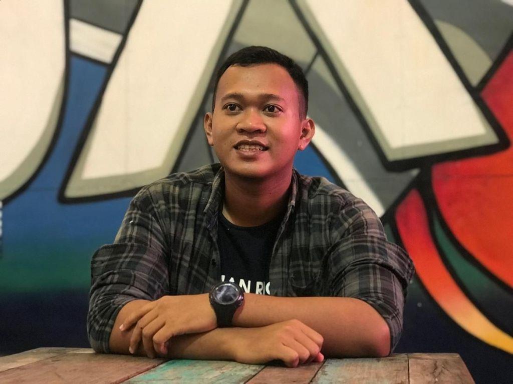 Pemenang #JalanBarengGrab Alamsyah Main di 5GX sama Luna & Daniel