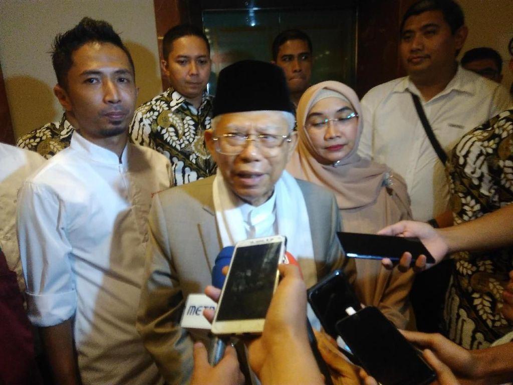 Maruf Amin: Jangan Sampai Kalah Lalu Melakukan People Power