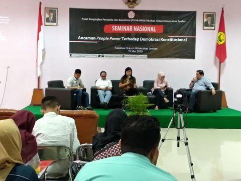 Soal People Power, Akademisi Minta Penegakan Hukum Jangan Dicampuri Politik