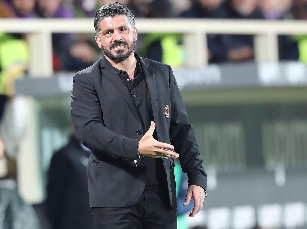 Gattuso Ungkap Penyesalan Usai Fiorentina vs Milan