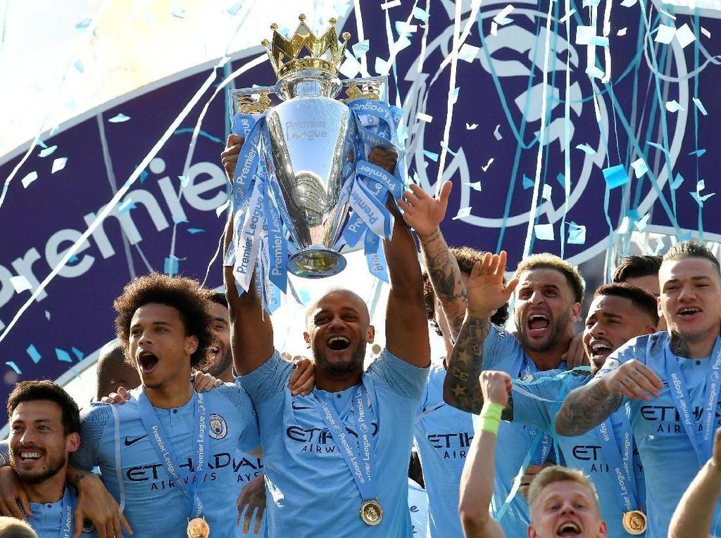 Klasemen Liga Inggris Pekan Terakhir: Man City Nomor 1, Liverpool Kedua