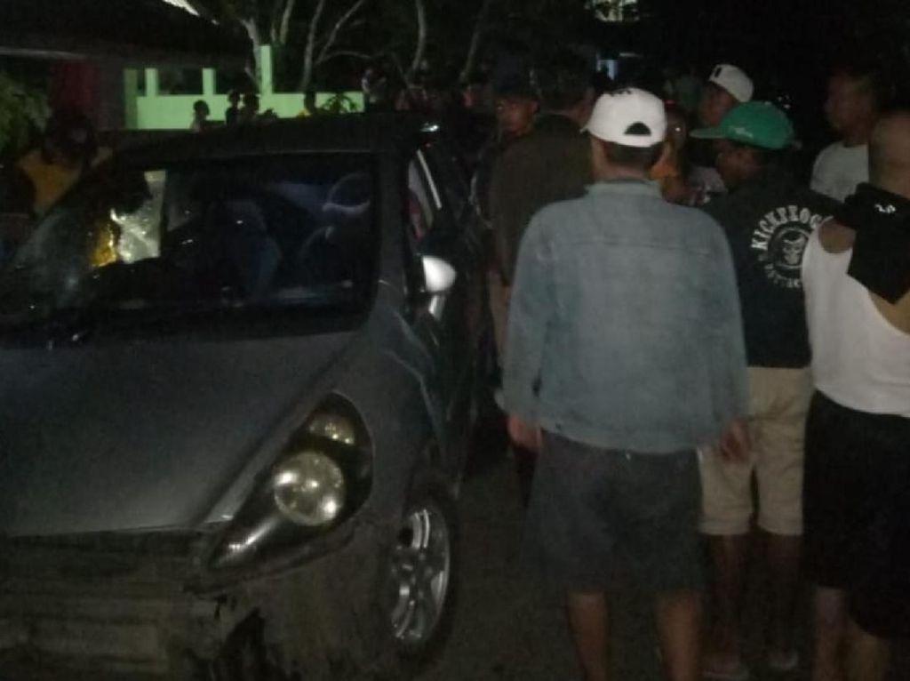 Tabrak Lari Tewaskan 3 Remaja Cianjur, Mobil Pelaku Dibakar Massa