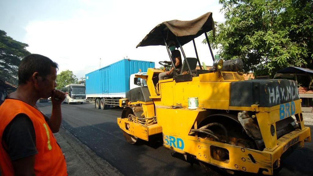 Jalur Lintas Selatan Jawa Terus Diperbaiki untuk Pemudik