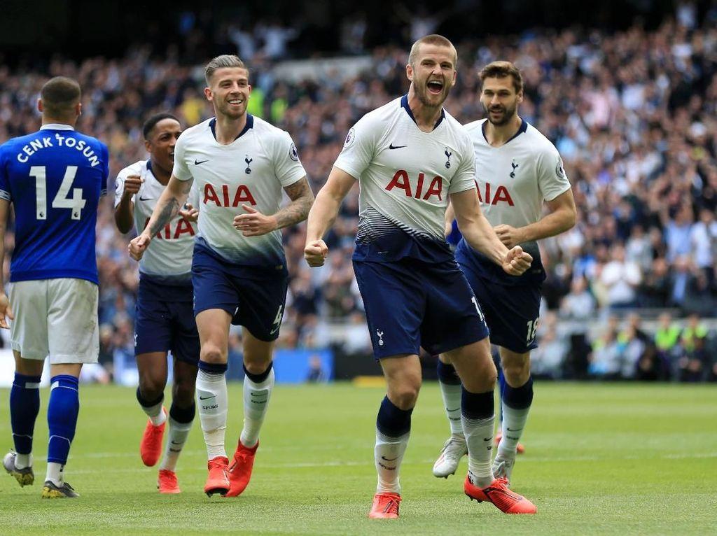 Babak I Tottenham vs Everton: Gol Cepat Dier Beri Spurs Keunggulan