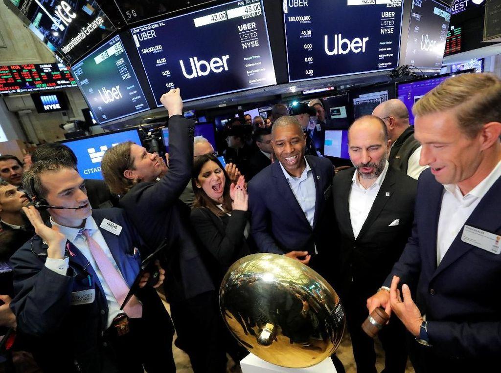 Riuh Rendah Uber IPO yang Diwarnai Demo Driver
