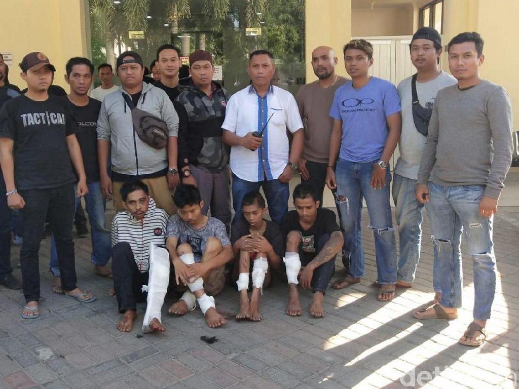 Coba Kabur, Komplotan Pelaku Curas di Makassar Ditembak Polisi