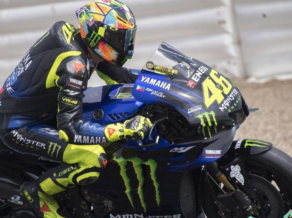 Rossi: Musim yang Berat, tapi Lebih Buruk Saat di Ducati