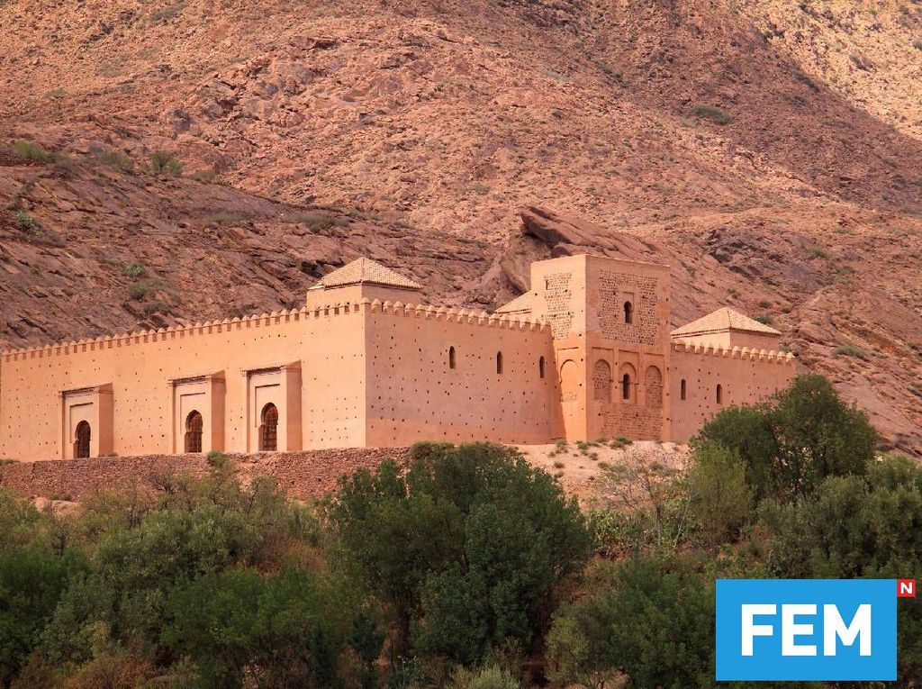Foto: Bukan Kastil, Ini Masjid