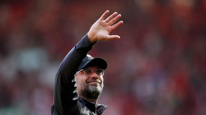 Liverpool harus puas finis runner-up meski mengumpulkan 97 poin. (Foto: Carl Recine/Action Images via Reuters)