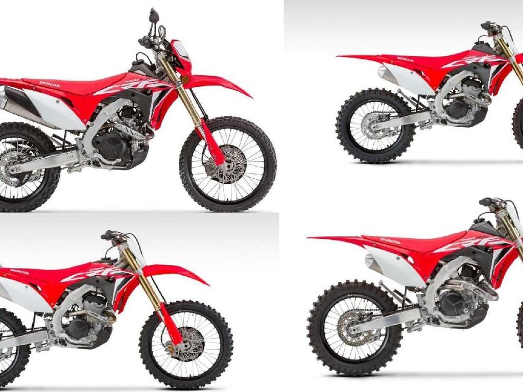 Model Baru Honda CRF 250