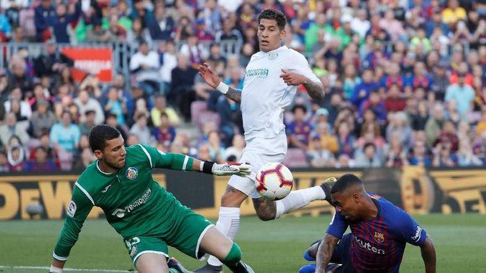 Barcelona kalahkan Getafe 2-0 (Susana Vera/REUTERS)