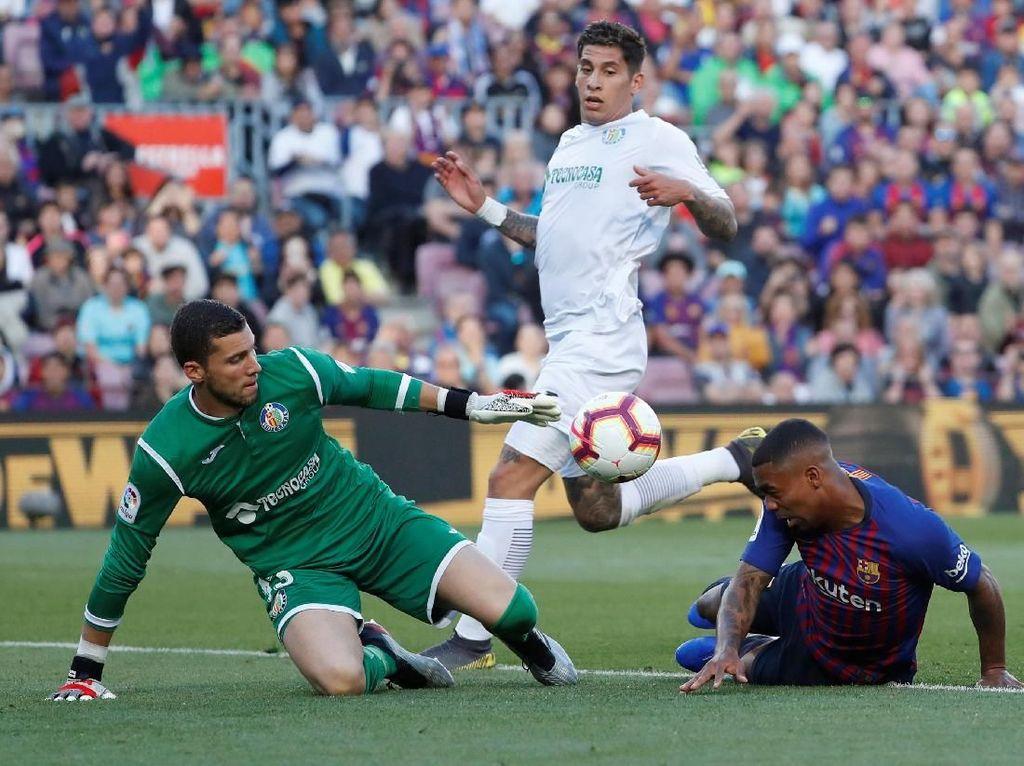 Hasil Liga Spanyol: Barcelona Kalahkan Getafe 2-0