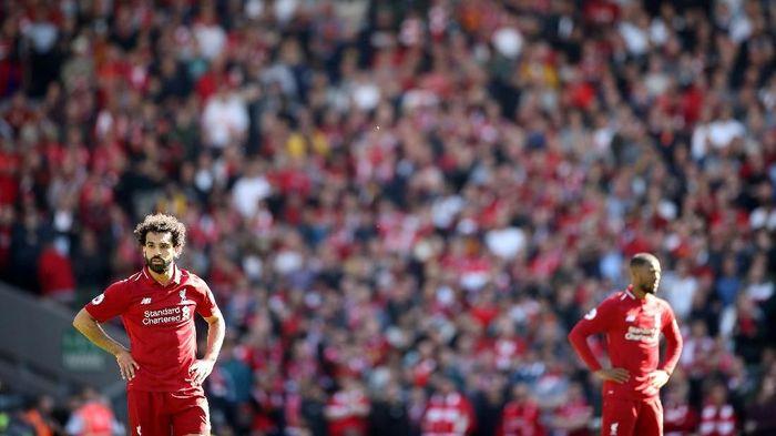 Liverpool gagal menjadi juara Liga inggris 2018/2019. (Foto: Carl Recine/Action Images via Reuters)