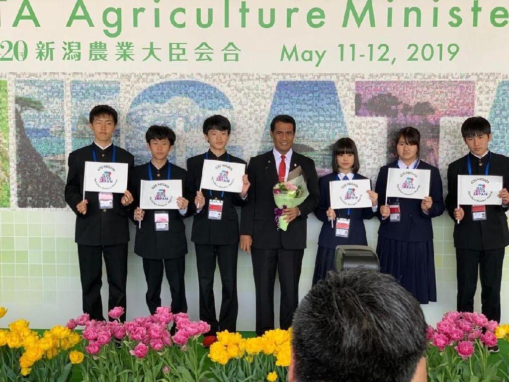 Di Jepang, Mentan Ajak Forum G20 Perhatikan Petani Kecil