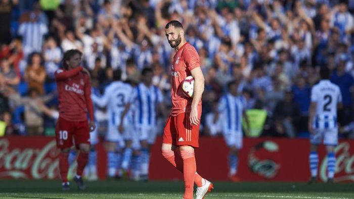Real Madrid kalah 1-3 dari Real Sociedad. (Foto: Juan Manuel Serrano Arce/Getty Images)