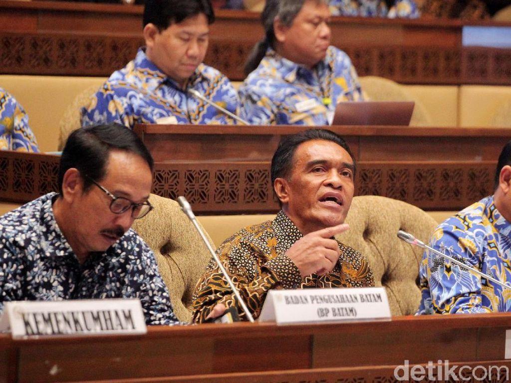 Komisi II DPR Desak BP Batam Diselesaikan Lewat Pansus