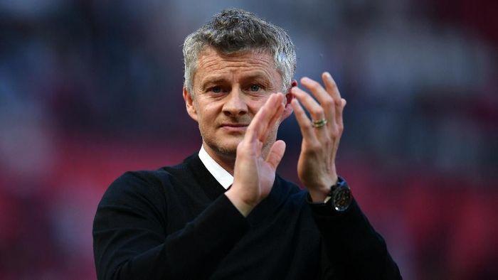 Manajer Manchester United, Ole Gunnar Solskjaer. (Foto: Dan Mullan/Getty Images)