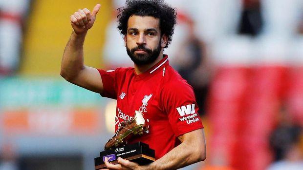Mohamed Salah menjadi incaran Real Madrid.