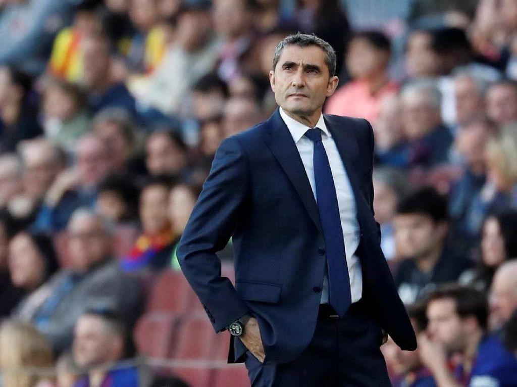 Barcelona Disoraki Suporter, Valverde: Itu Wajar