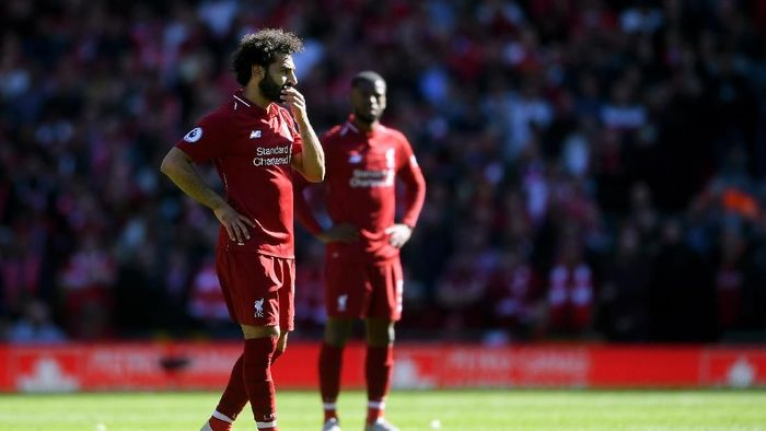 Liverpool gagal juara Liga Inggris meski mengumpulkan 97 poin. (Foto: Laurence Griffiths/Getty Images)