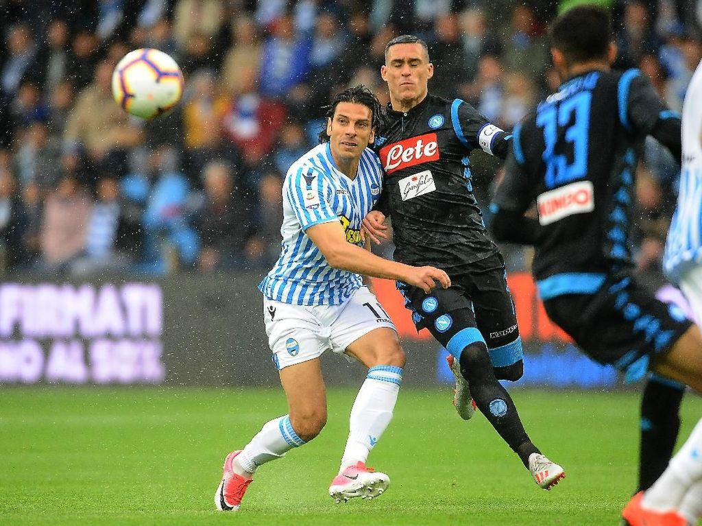 SPAL Vs Napoli: Partenopei Menang 2-1
