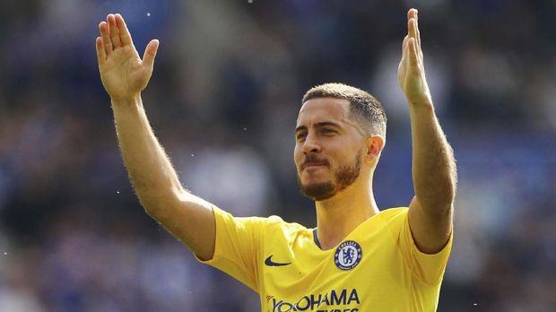 Chelsea Siap Lepas Hazard ke Madrid Rp1,6 Miliar