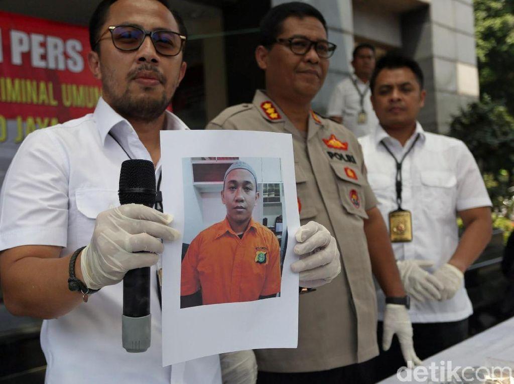 Ini Potret Pelaku Pengancam Penggal Kepala Jokowi