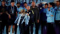 Aguero: Saatnya City Juara Liga Champions Musim Depan