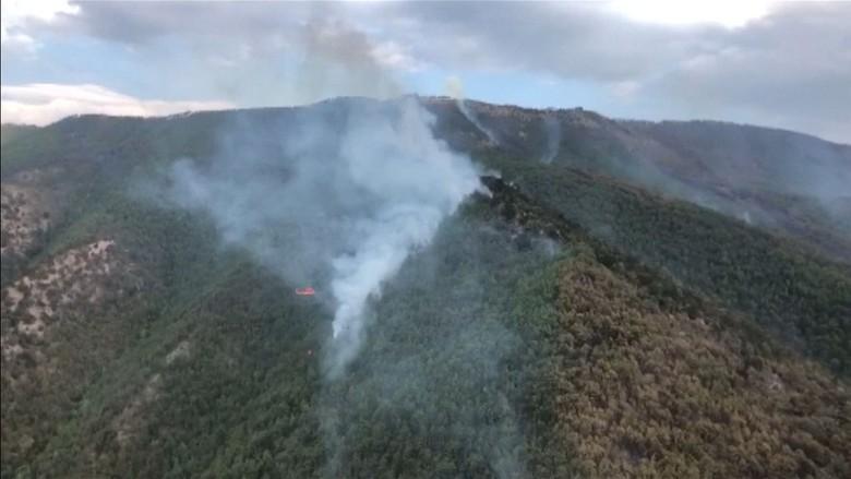 Kebakaran Lahan Terjadi di Aceh Besar, Diduga Disengaja