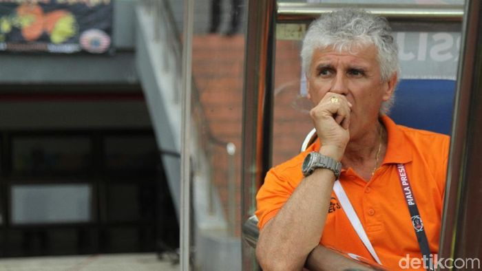 Pelatih Persija Jakarta Ivan Kolev (Rifkianto Nugroho/detikSport)