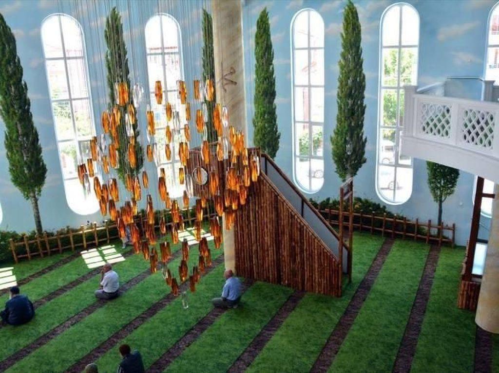 Seperti di Alam, Ini Masjid Turki yang Terinspirasi Ayat Alquran