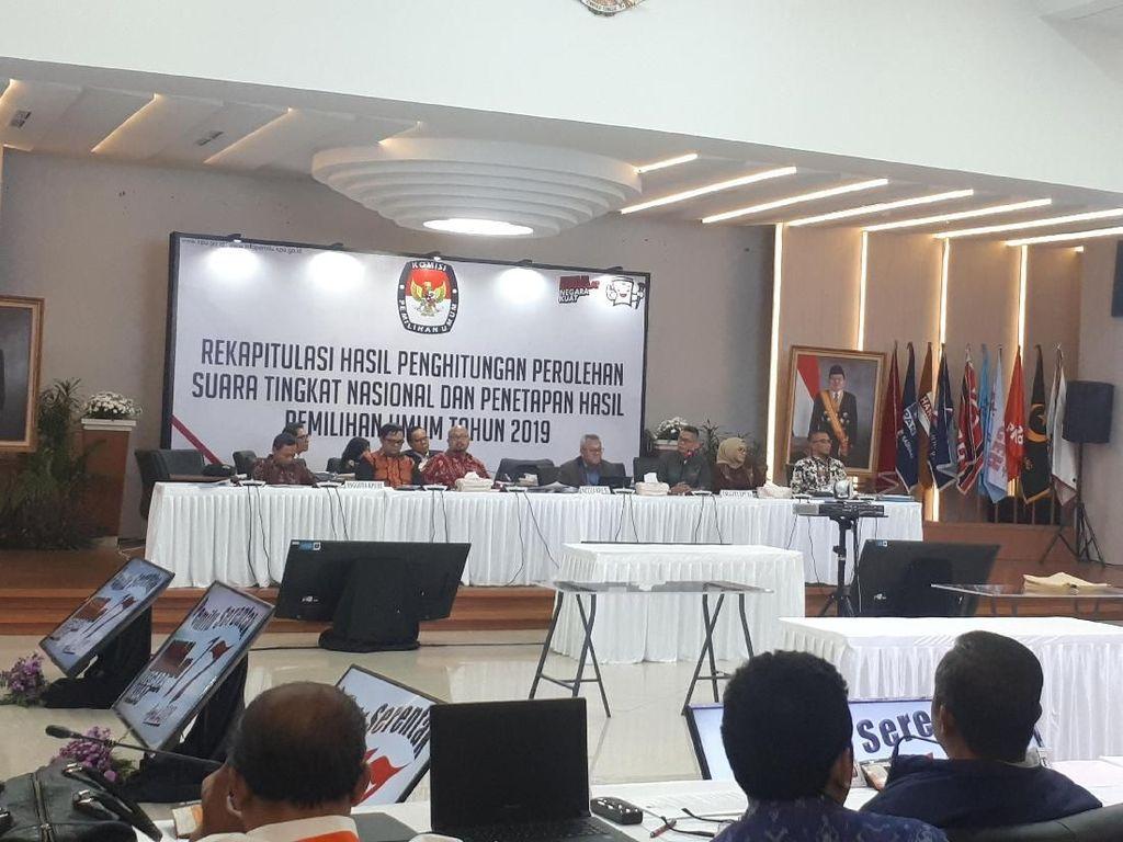 Rekapitulasi KPU: PDIP, NasDem, dan Golkar Urutan Teratas di Sulawesi Utara
