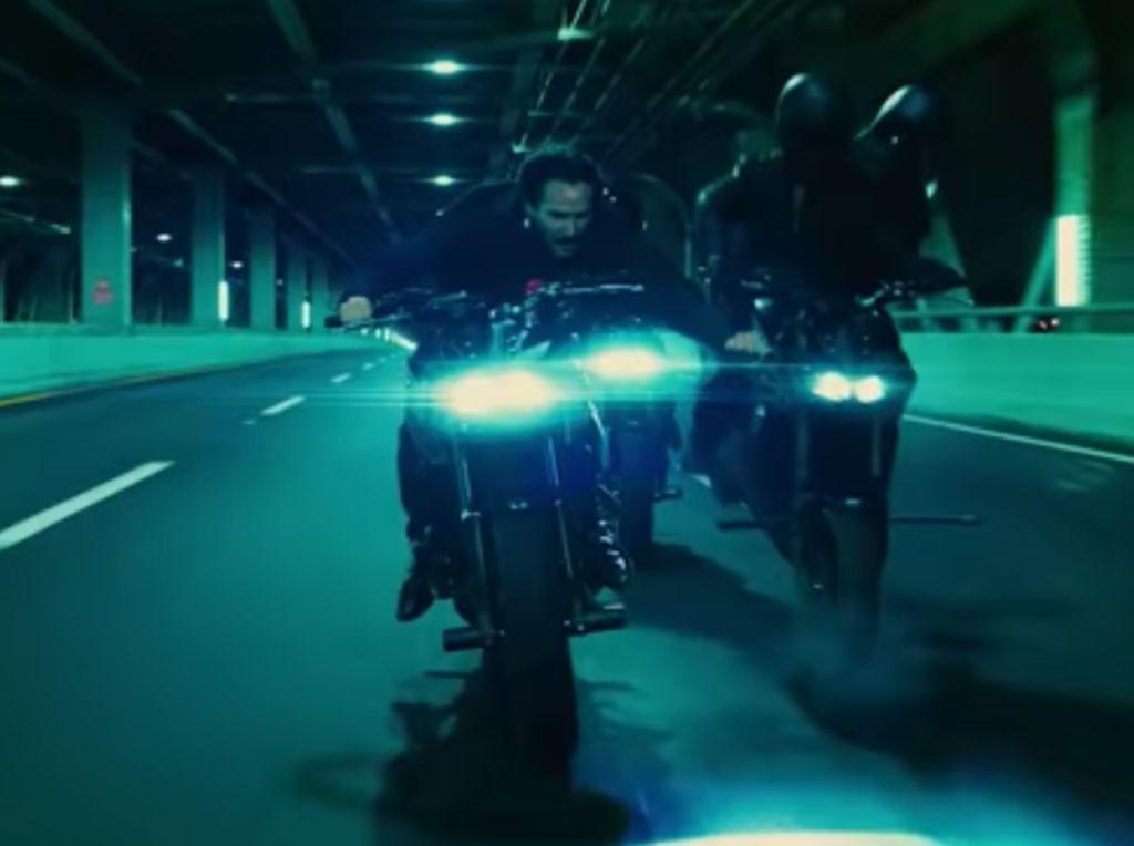 Bikers Sejati, Keanu Reeves Beraksi dengan Moge di John Wick 3
