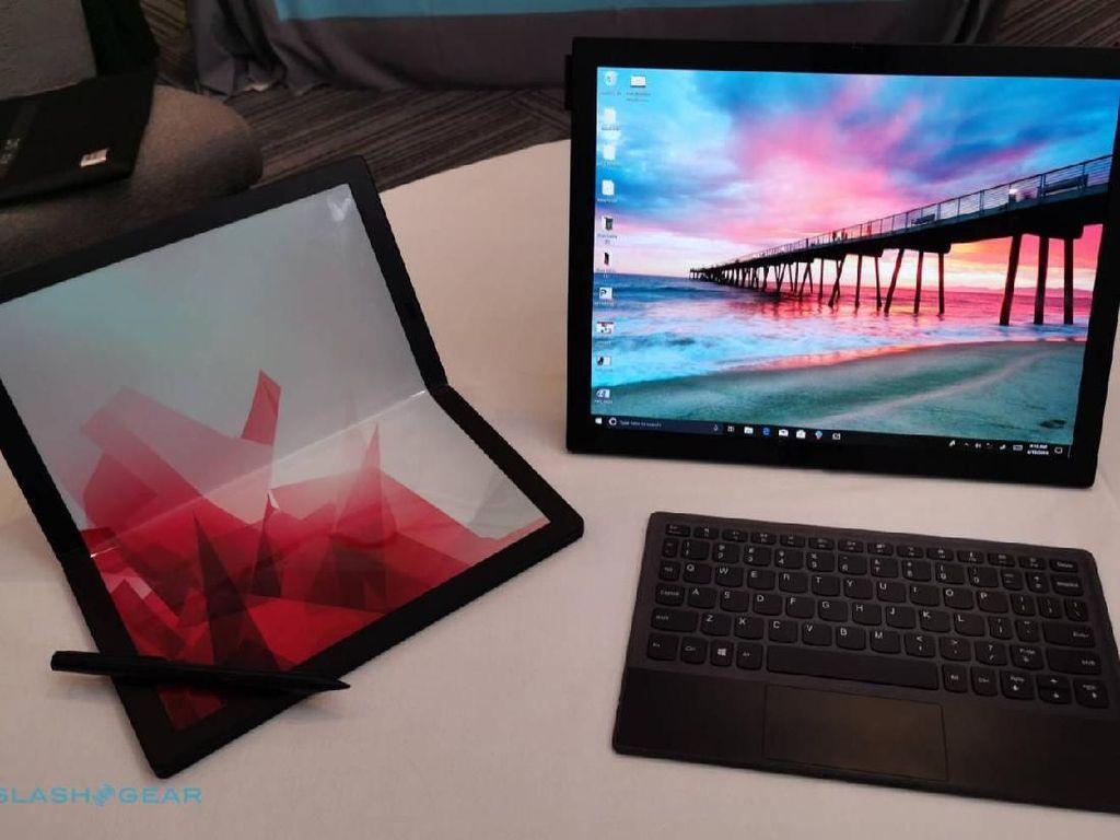 Lenovo Pamer Laptop Layar Lipat